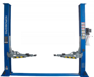 Подъемник двухстоечный 4т. NORDBERG N4120A-4T - 202